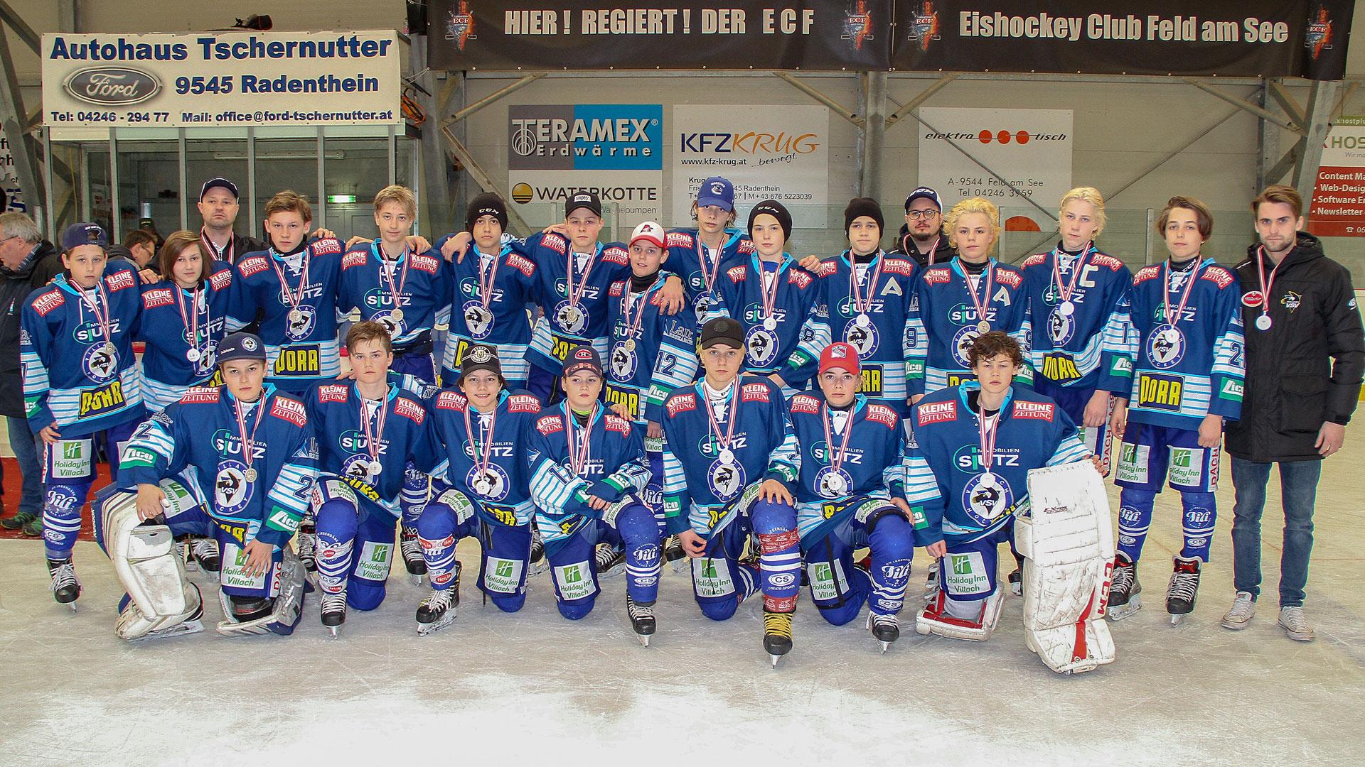 EC Panaceo VSV U14 Österreichischer Eishockey Vizemeister 2018/19