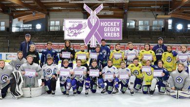 Hockey gegen Krebs VSV Juniors